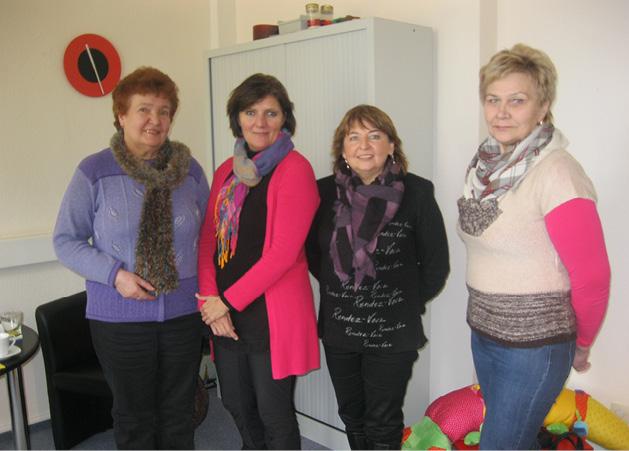 Beim Caritasverband in Friedberg