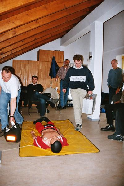 Fortbildung Rettungsdienst Bild 1 / 2004