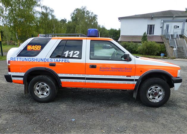 Opel Frontera Seitenansicht rechts