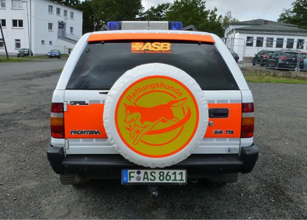 Opel Frontera Heckansicht
